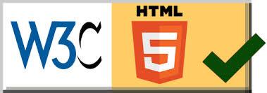 Valid HTML5 logo